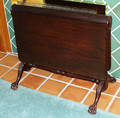 041134 CHIPPENDALE STYLE MAHOGANY DROPLEAF TABLE