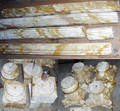 032064 NEOCLASSICAL STYLE CARVED MARBLE COLUMNS