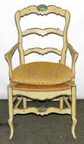 031234 FRENCH PROVINCIAL STYLE ARMCHAIR FOR PIERRE DEU