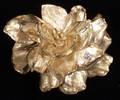 042156 10CT DIAMOND  18KT GOLD BROOCH