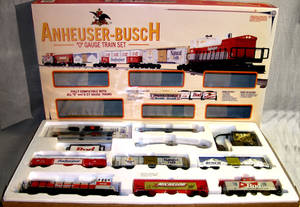 030141 KLINE ANHEUSERBUSCH ELECTRIC TRAIN SET