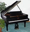 062183 STEINWAY GRAND PIANO EBONY