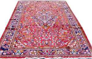 050138 HAND WOVEN PERSIAN RUG 10 3 X 7