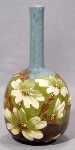 040235 UNSIGNED AMERICAN WELLER POTTERY VASE