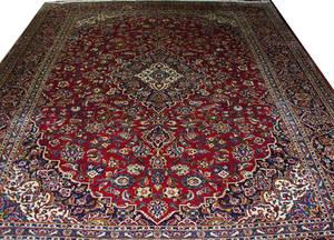 032124 KASHAN PERSIAN RUG 9 7 X 12 6