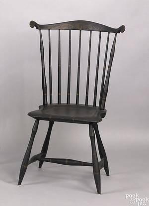 Pennsylvania fanback windsor chair ca 1810