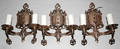 032175 COPPER ELECTRIFIED CANDELABRA 3