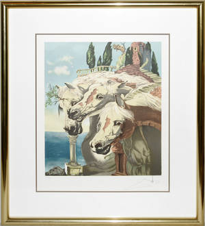 072267 AFTER SALVADOR DALI LITHOGRAPH