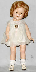 061365 IDEAL NOV  TOY CO BODY SHIRLEY TEMPLE DOLL