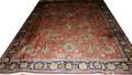 052214 TABRIZ WOOL PERSIAN CARPET 12 7 X 9 5