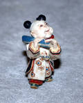 041343 JAPANESE AWATA WARE PORCELAIN FIGURE OF A BOY