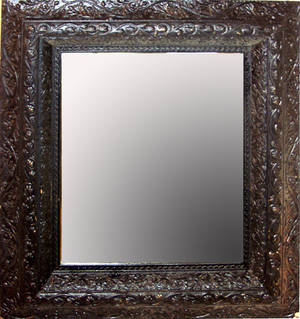 040319 VICTORIAN GILT FRAMED MIRROR