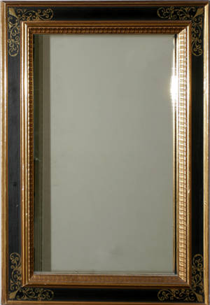 040314 ITALIAN GILT WOOD MIRROR