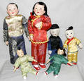 031399 CHINESE DOLLS WITH HANDMADE CLOTHING