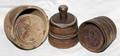 031380 AMERICAN CARVED PINE BUTTER MOLDS