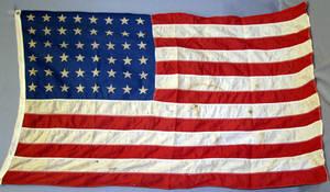 080269 48 STAR AMERICAN FLAG