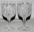 051377 DORFLINGER CUT GLASS GOBLET  OTHER