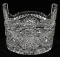 051376 CUT GLASS ICE BUCKET
