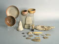 Archaic utensils to include a spear head