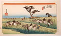 080322 JAPANESE WOOD BLOCK PRINT LANDSCAPE