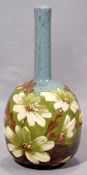 070299 UNSIGNED AMERICAN WELLER POTTERY VASE