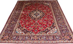 062345 KASHAN WOOL PERSIAN RUG 79 X 111