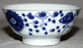 041416 CHINESE BLUE  WHITE WARE PORCELAIN BOWL