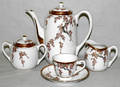 031462 CHINESE PORCELAIN TEA SET WISTERIA PATTERN