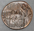 070340 POLISH COPPER MILLENNIUM COIN