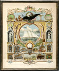 071524 WORLDS FAIR LITHOGRAPH AMERICAN SUPERIORITY
