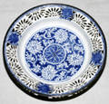 041525 CHINESE BLUE  WHITE WARE PORCELAIN PLATE