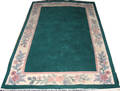 081598 INDIAN WOOL CARPET 7 7 X 4 0