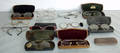 060502 AMERICAN ANTIQUE WIRE  HORN RIM EYEGLASSES