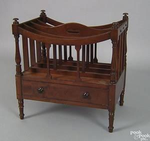 Sheraton mahogany canterbury ca 1820