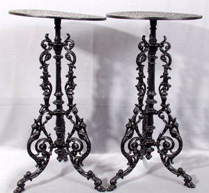 041623 ENGLISH CAST IRON TABLES