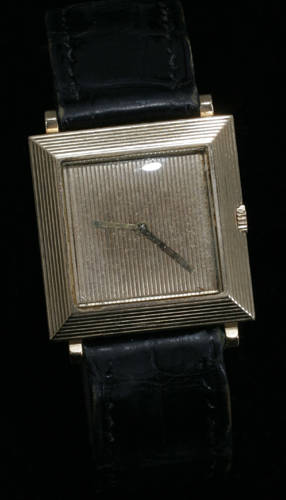 051592 BOUCHERON PARIS SQUARE WRIST WATCH