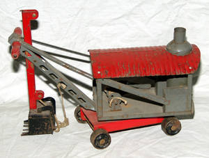 032499 KEYSTONE PULL TOY STEAM SHOVEL 1925