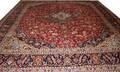 060009 KASHAN PERSIAN WOOL CARPET 11 1 X 13 2