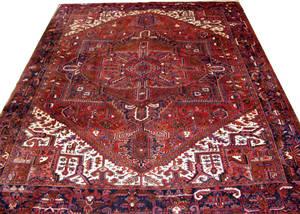 040020 HERIZ PERSIAN WOOL CARPET 10 2 X 13
