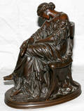 032007 PIERRE JULES CAVELIER FRENCH BRONZE SCULPTURE