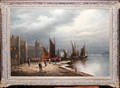 032026 LUDWIG MUNNINGER OIL ON CANVAS SAILBOATS