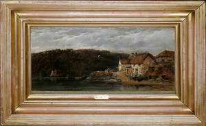 032023 WILLIAM PITT OIL ON CANVAS NEAR ST MAWES 18