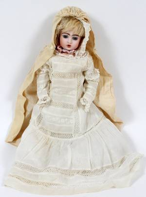 FRENCH BISQUE BEBE TETEUR BY BRU LATE 19TH C