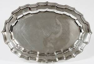 FRANK SMITH SILVER CO STERLING PLATTER
