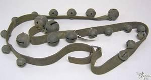 String of brass sleigh bells