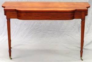 SHERATON MAHOGANY CONSOLE TABLE C 1840