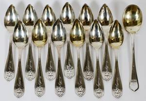 AMERICAN COIN SILVER SPOONS  GORHAM SPOON