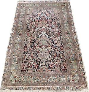 CHINESE PURE SILK RUG