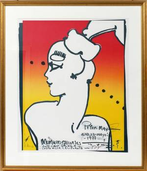 PETER MAX LITHOGRAPH POSTER
