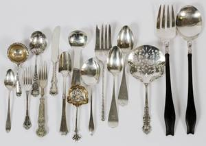 AMERICAN STERLING FLATWARE  SERVING PIECES 16 PCS